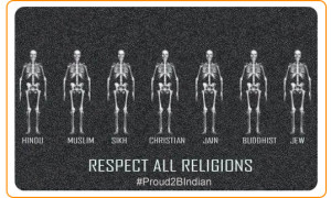 Respect all Religions
