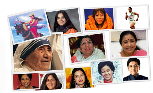 great womens of india achievements