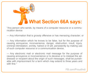 Section 66A of the Information Technology Act